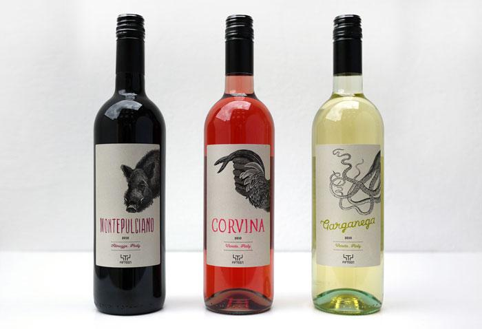 Fifteen London's Signature Wine - The Dieline: The World's #1 Package Design Website -