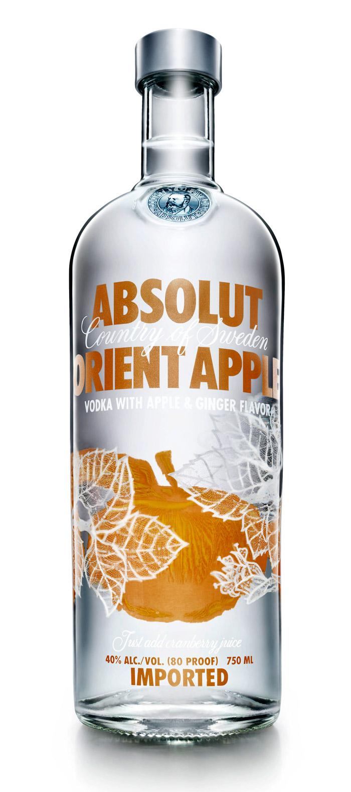 Absolut Orient Apple - The Dieline: The World's #1 Package Design Website -