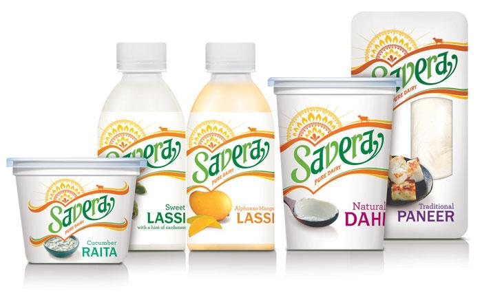 Savera, Indian Dairy  - The Dieline: The World's #1 Package Design Website -