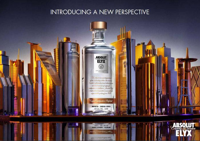 Absolut Elyx - The Dieline: The World's #1 Package Design Website -