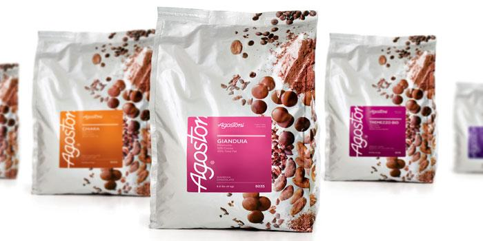 Agostoni Chocolate Food Service Packaging - The Dieline: The World's #1 Package Design Website -