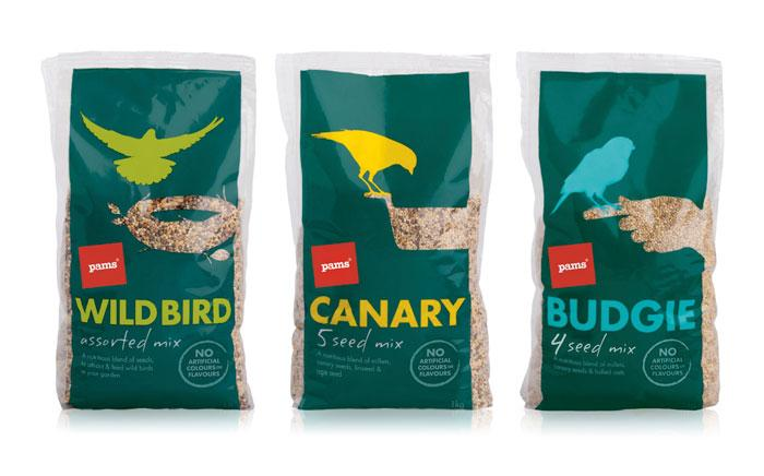 Pams Pet Food  - The Dieline: The World's #1 Package Design Website -