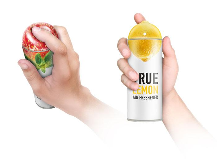 TRUE air fresheners - The Dieline: The World's #1 Package Design Website -