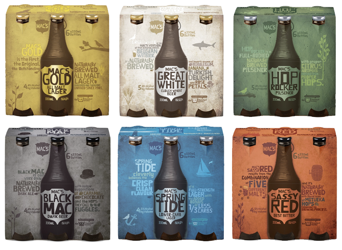 Mac's Brewery - The Dieline: The World's #1 Package Design Website -
