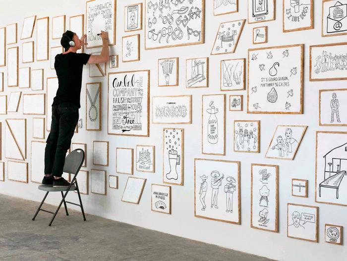Timothy Goodman: Airbnb Installation | Design Work Life
