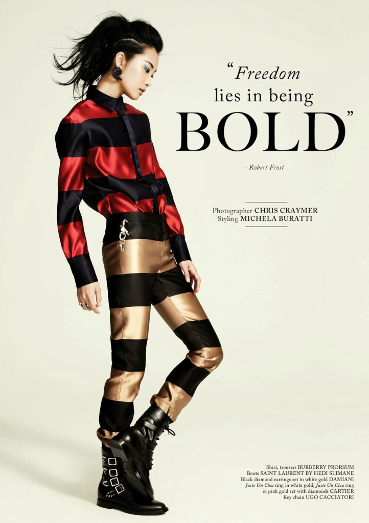 FREEDOM LIES IN BEING BOLD | Fiercer Than You