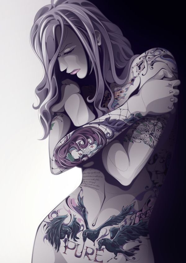 I love this. Pure Tattoo! by Man-Tsun | Inspiration DE