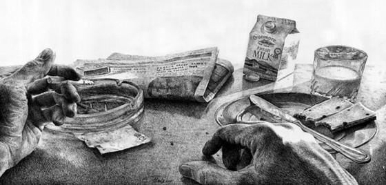 Potlood en een stuk papier, de ideale ingrediënten voor een tekenaar « Froot.nl