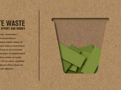Waste Basket by Dusty Pierce