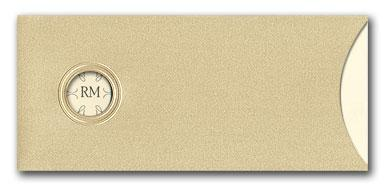 Gold Pockets - Wedding Invitations by Invitation Consultants. (Item # TX-BGF10844-19074-503 )