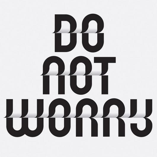 Designspiration — Do not worry - 3 Toko Typeface