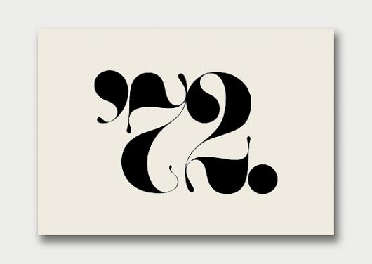 Designspiration — Logo Collection – Number Theory, 1960s/70s / Aqua-Velvet