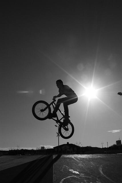 South Shields BMX - B&W | Flickr - Fotosharing!