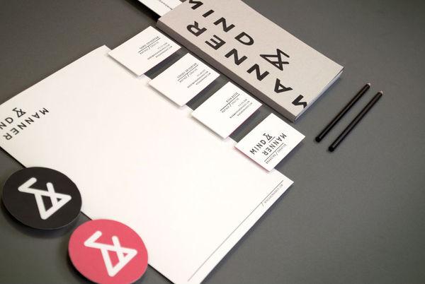 Branding / Mind and Manner | Branding and Creative — Designspiration