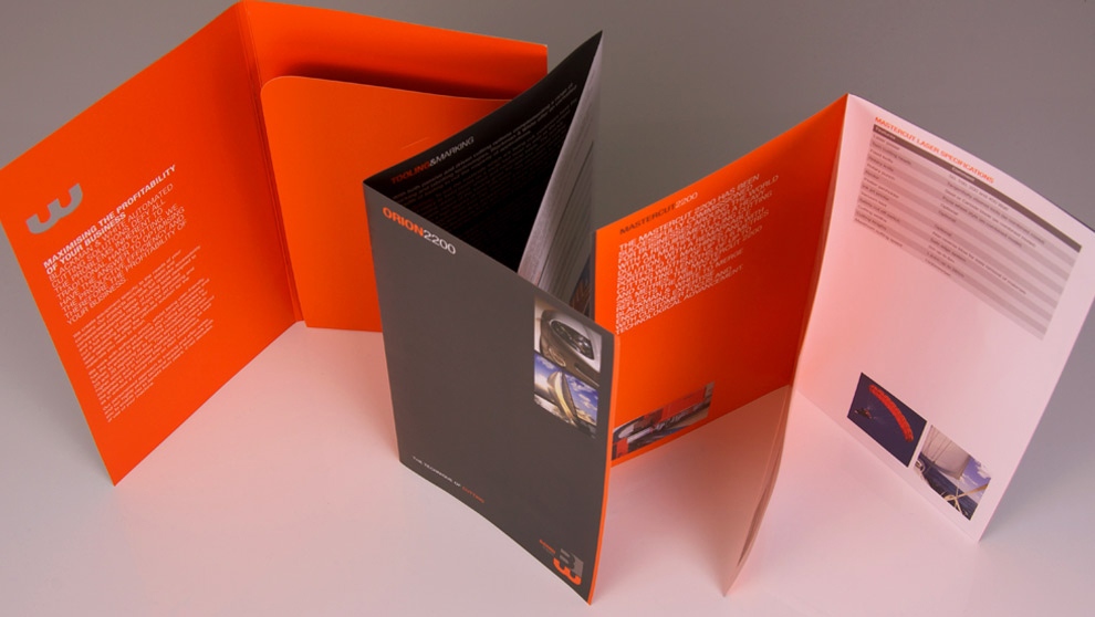 Blackman & White corporate literature design and production