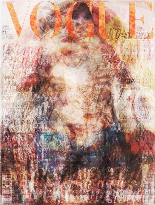 2010 Vogue Cover Compilation Art - Fashion Copious