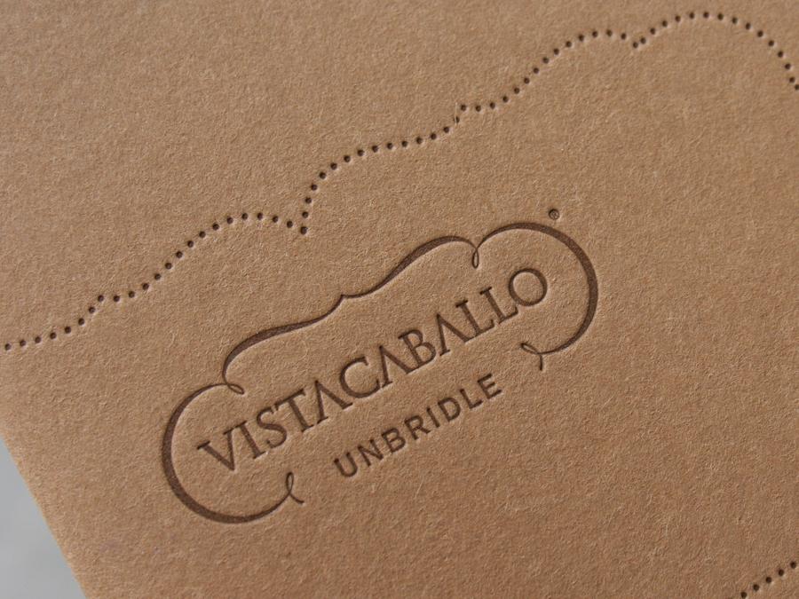 Vista Caballo Stationery | Studio On Fire