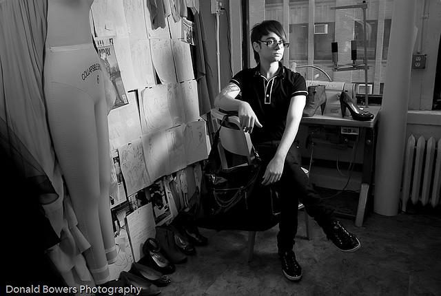 Designer Christian Siriano at Payless Shoe Store on 5th ave. and 39th Street | Flickr - Fotosharing!