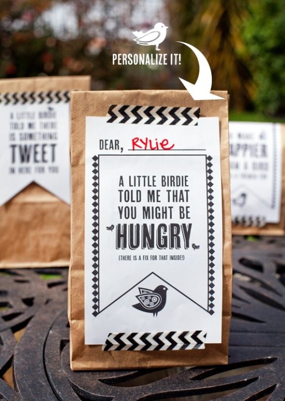 Lunch Bag Printables | G R A P H I C S