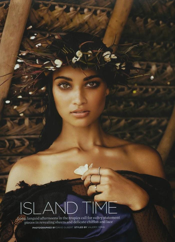 Shanina Shaik x Marie Claire Australia @ ShockBlast