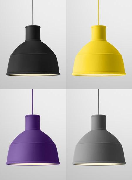 Rubber Pendant Lamp: foldable 'Unfold' | Captivatist