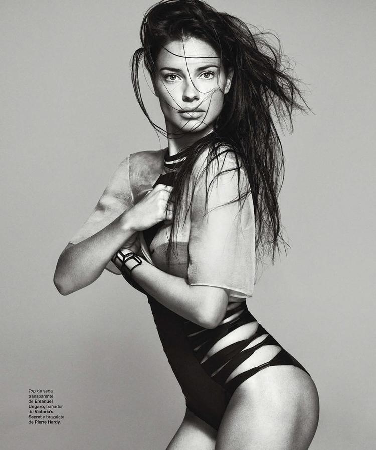 Adriana Lima x Harper's Bazaar Spain Feb 2014 @ ShockBlast