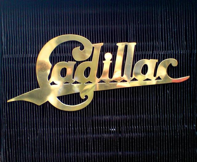 Vintage Cadillac badge on front grill of 1904 model | Flickr - Photo Sharing!