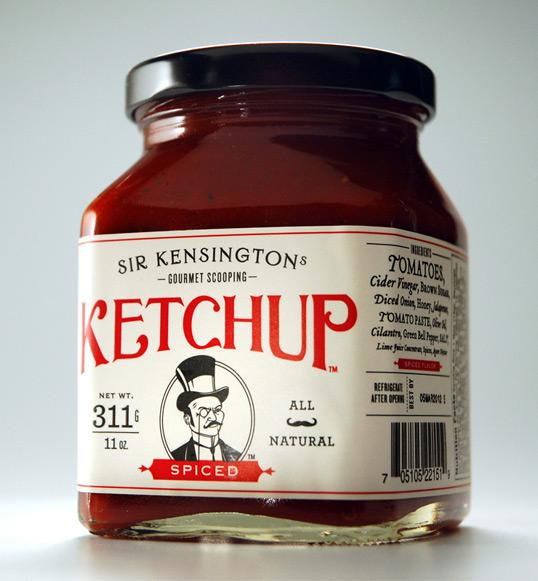 Sir Kensington's Gourmet Scooping Ketchup | Lovely Package