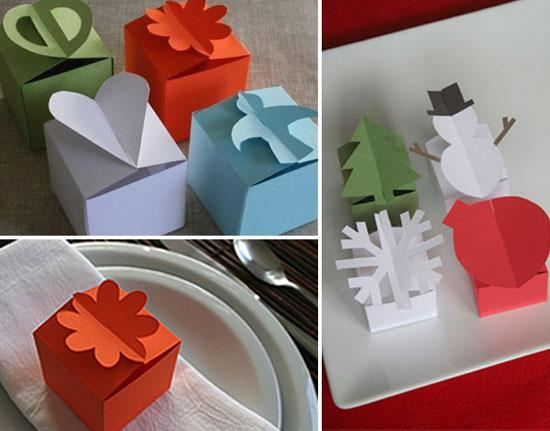 Paper Gift Boxes @ Lushlee