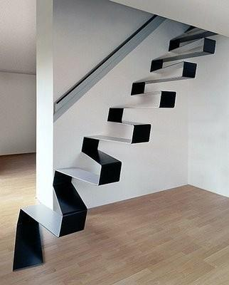 monochrome spaces. / Crazy Stairs!!!