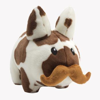 Cow 'Stache Labbit Plush 14-Inch | Kidrobot