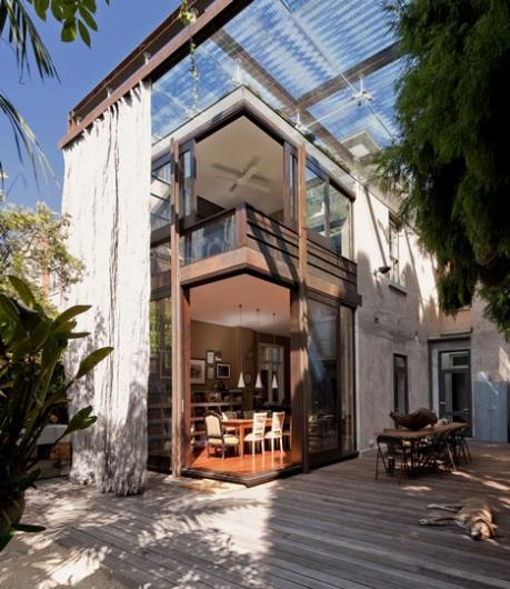 Designspiration — Dezeen » Blog Archive » Glass Loggia House by Allen Jack+Cottier, Vladimir Sitta and Belinda Koopman