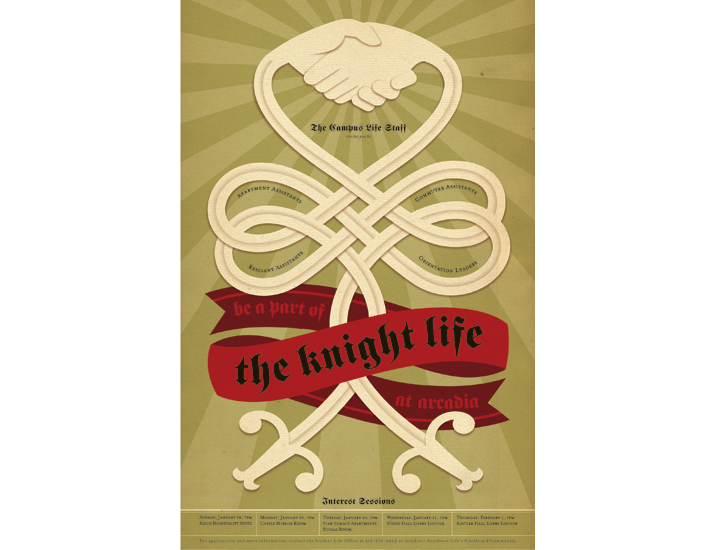 The Knight Life | Jessica Hische