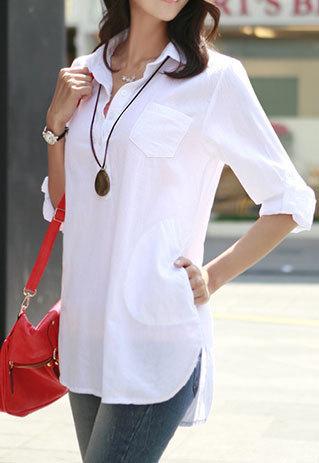 Белые рубашки жен