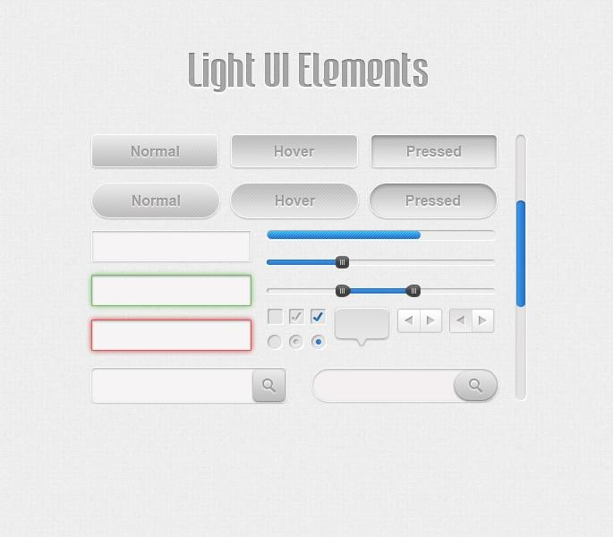 Light UI Kit | Webdesigner Lab