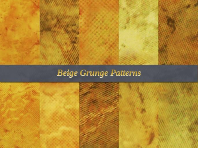 Beige Grunge Free Patterns | Webdesigner Lab