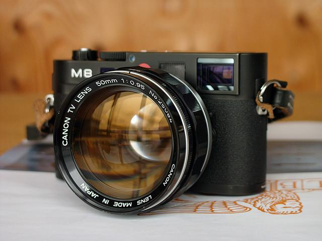 Leica M8 + Canon TV Lens 50mm 1: 0.95 | Flickr - Photo Sharing!