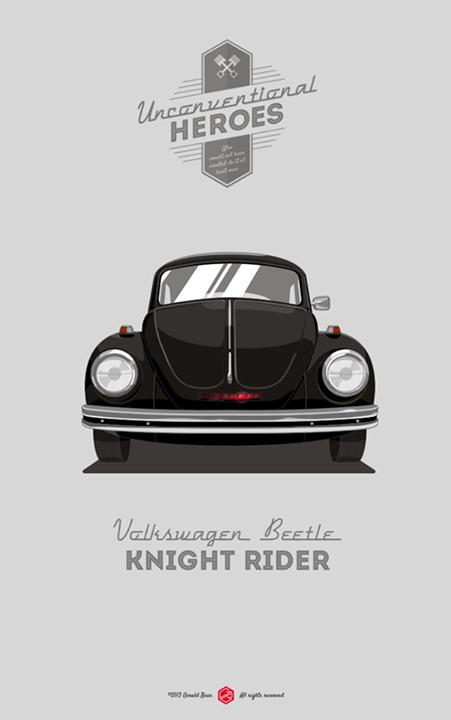 UNCONVENTIONAL HEROES / Knight rider — Designspiration