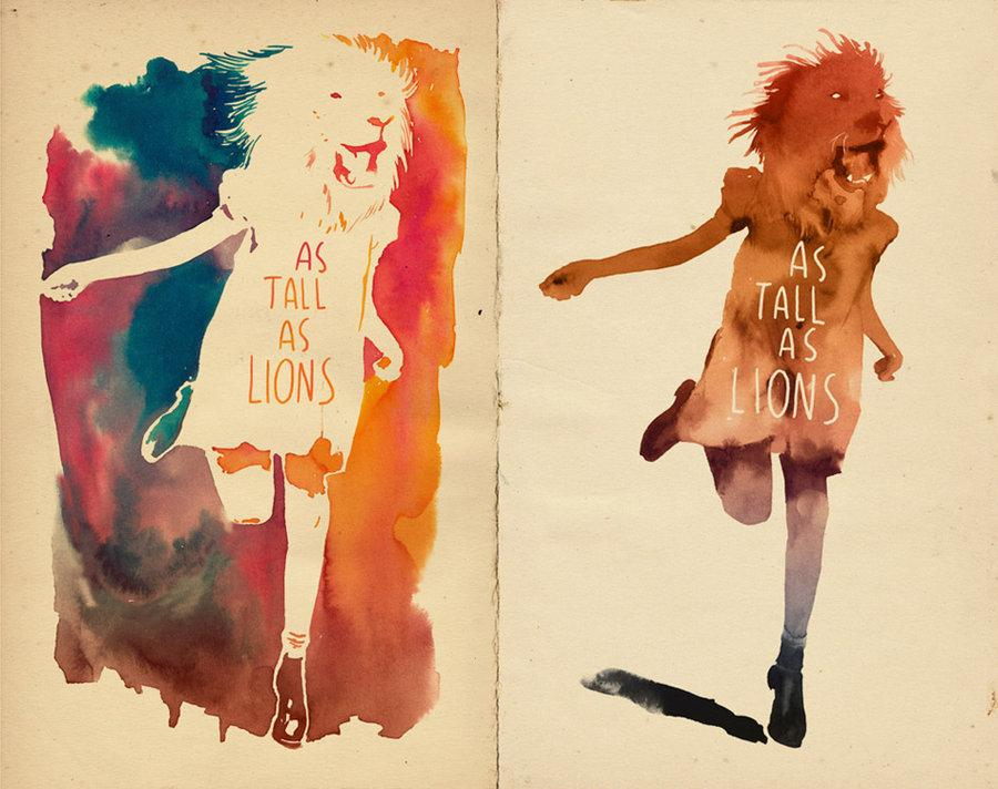 As_tall_as_lions_by_mathiole.jpg (900×712)