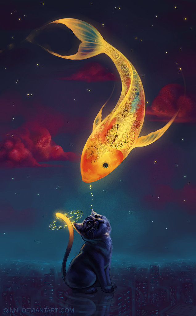 To Catch A Moon-Fish by Qinni | Inspiration DE