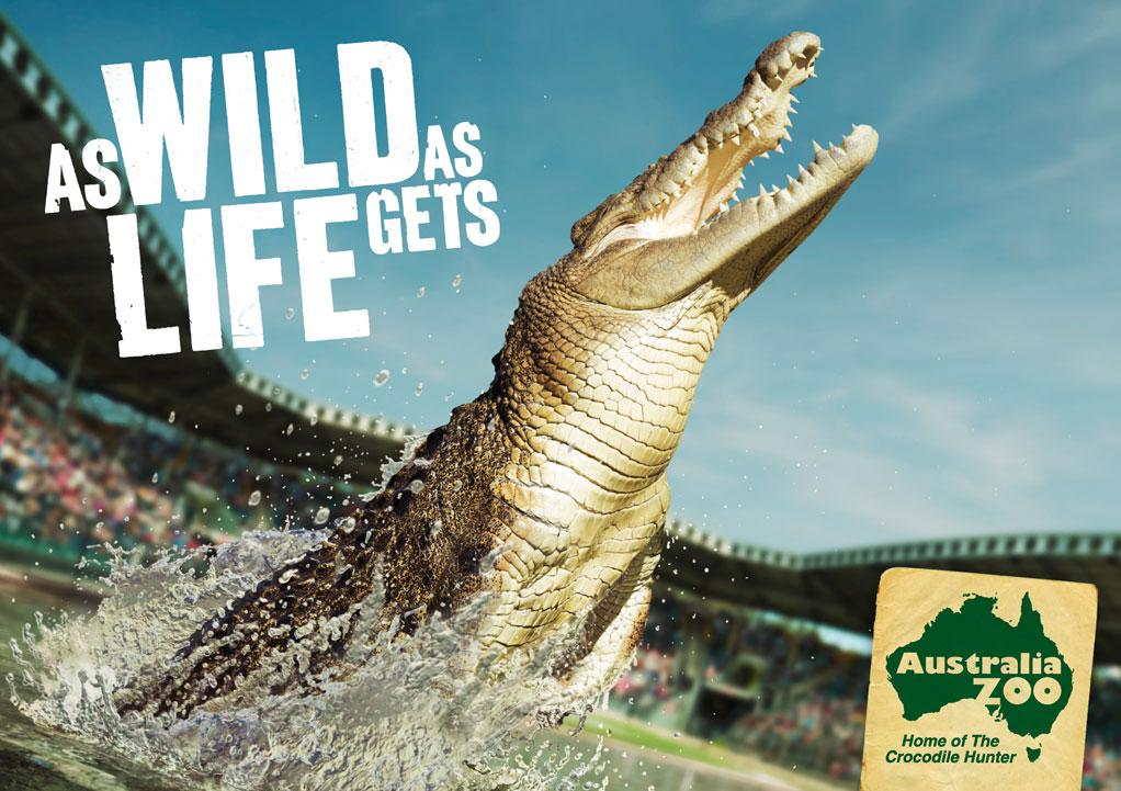 Australia Zoo: Croc | Ads of the World™