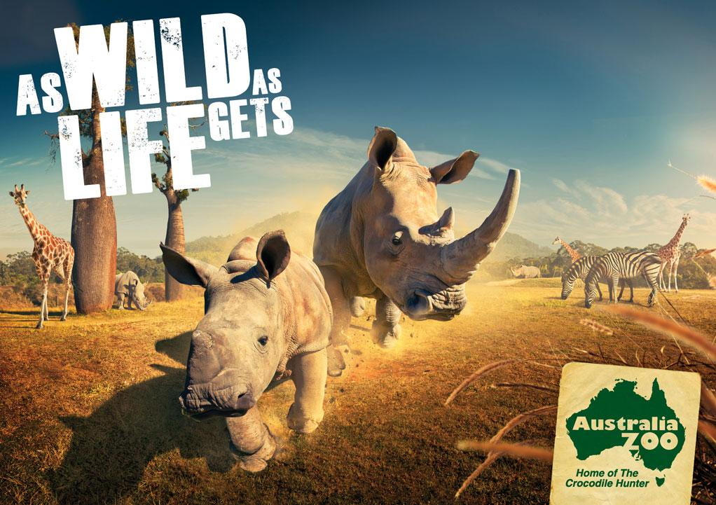 Australia Zoo: Rhino | Ads of the World™