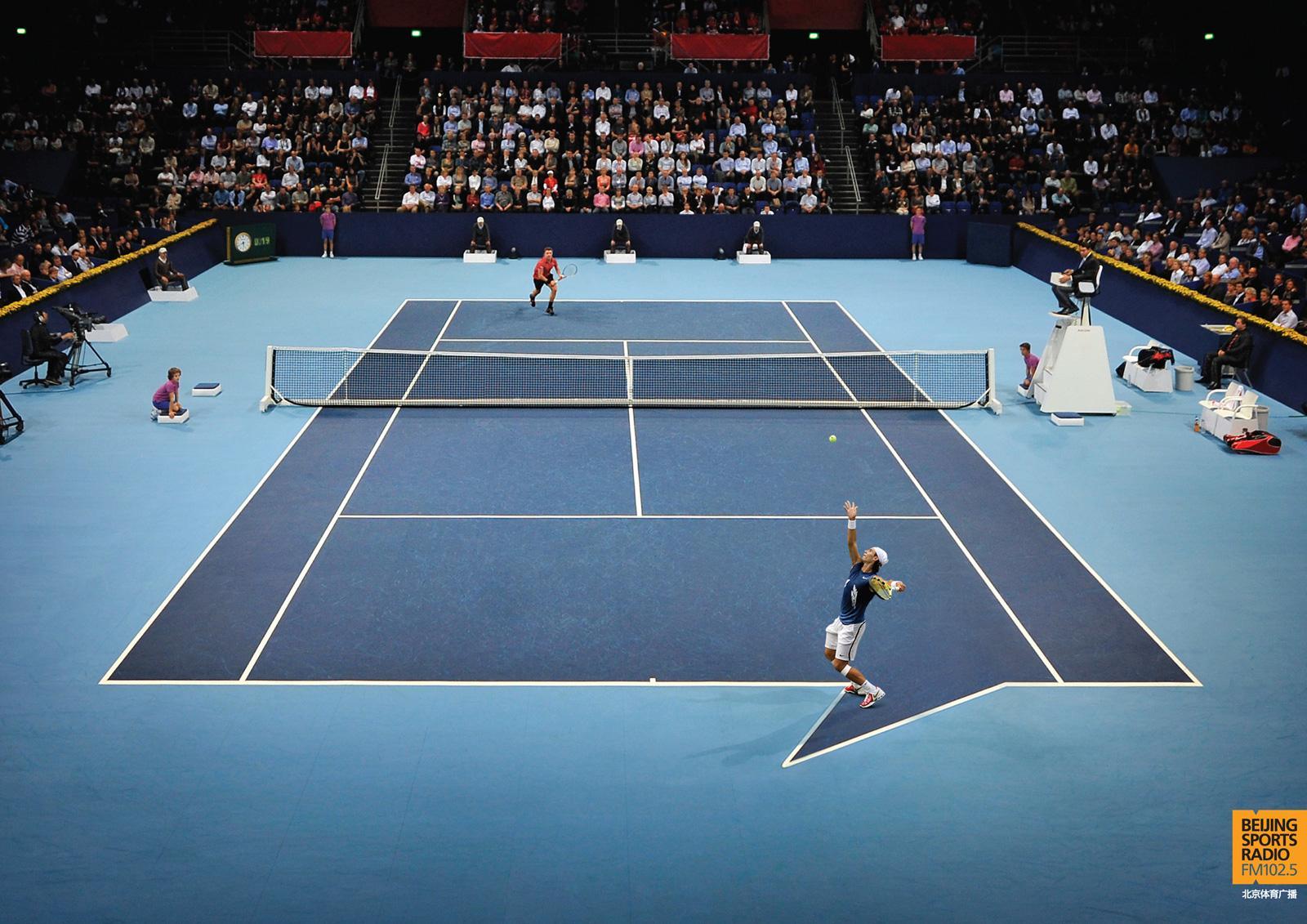 Beijing Sports Radio: Tennis | Ads of the World™