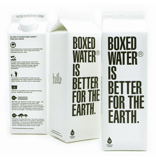 Boxed Water | Lovely Package