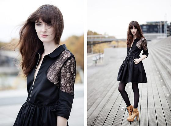 Raphaelle H. Limi Dress, Patouf Shoes //