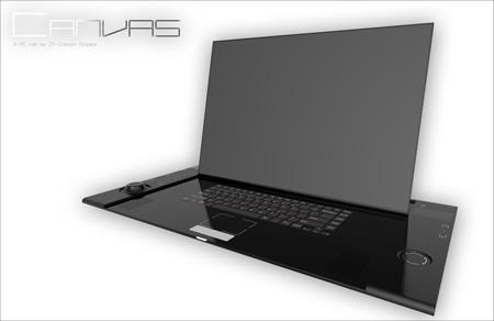 Canvas Laptop Concept Designed By Kyle Cherry