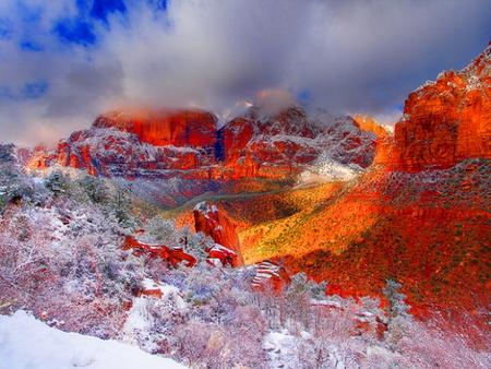 Red mountains - Mountains Wallpaper 965839 - Desktop Nexus Nature