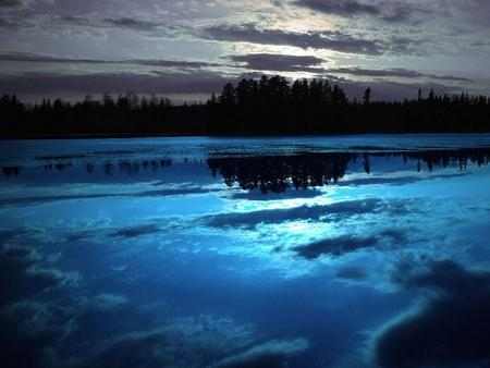 Ice Blue Night - Lakes Wallpaper 965713 - Desktop Nexus Nature