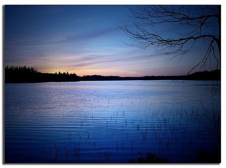 Blue Dusk. - Lakes Wallpaper 965709 - Desktop Nexus Nature