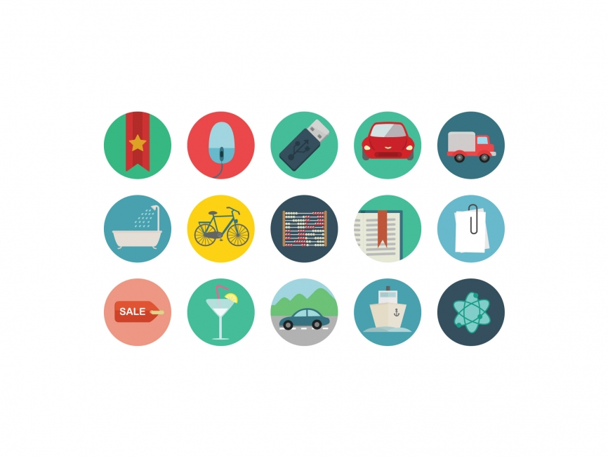 Round Icons Vector Icon - ICON - Symbols & Signs : LogoWik.com